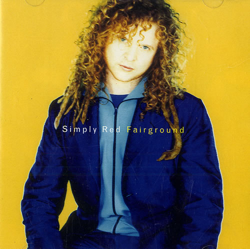 Fairground backing track simply red for Simply singles