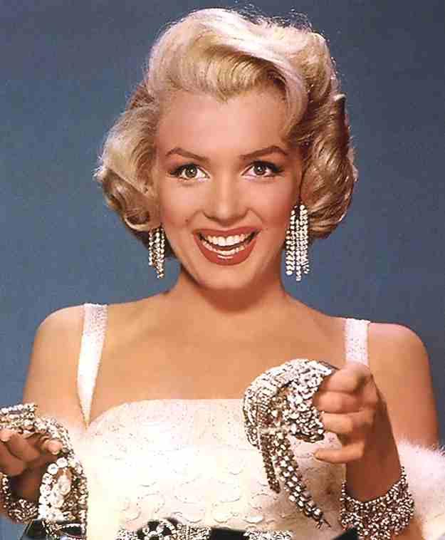 Marilyn Monroe Diamonds Are Girls Best Friend
